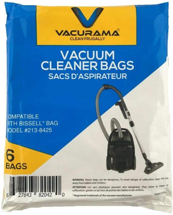 Vacurama Bissell vacuum bags package